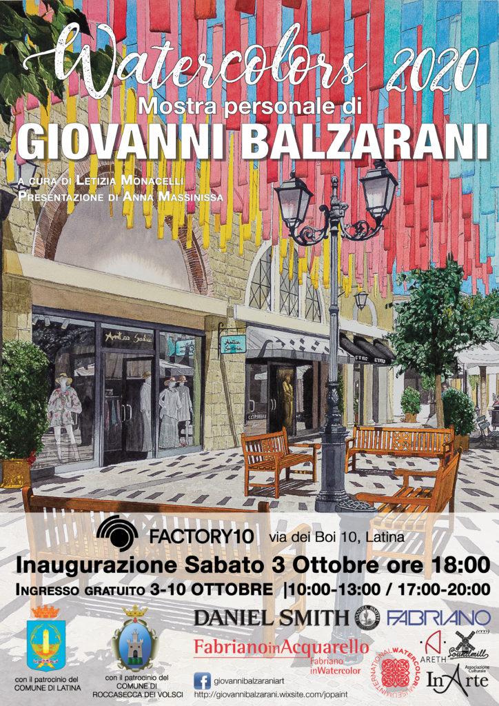 Balzarani poster A3 GB